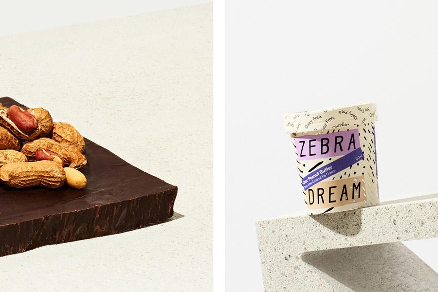 斑马纹国外包装设计【冰淇淋的诱惑】图片