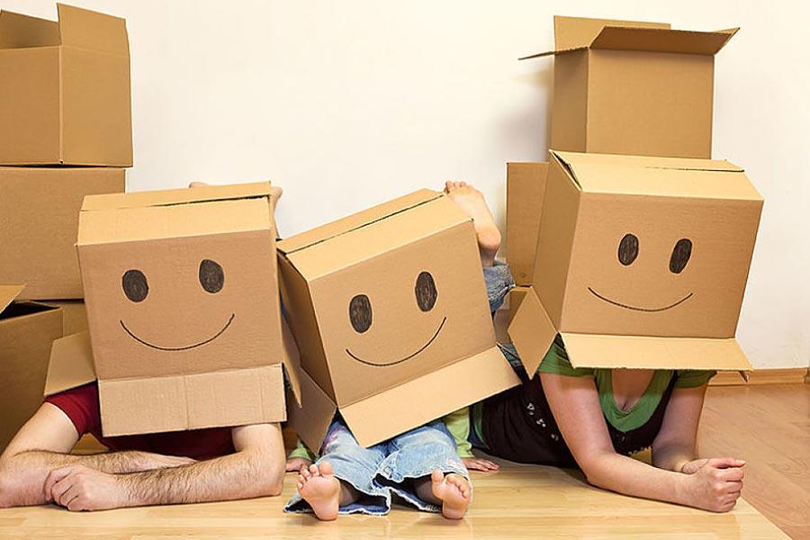 纸箱包装被大量用于物流